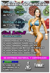 Seminario Josela Bottarelli @ Fitness King