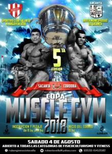 Copa Muscle Gym Sacanta