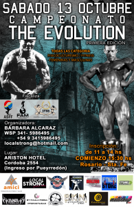 Campeonato The Evolution @ Rosario | Santa Fe | Argentina