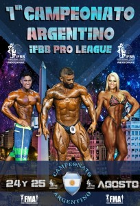 1° Campeonato Argentino IFBB PRO LEAGUE REGIONAL @ Auditorio Bs. As.