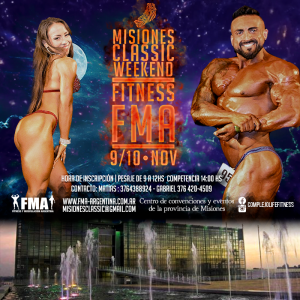 Misiones Classic Muscle Weekend @ Misiones