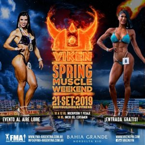 Campeonato VIKEN SPRING MUSCLE WEEKEND