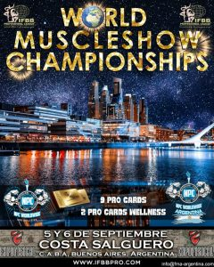 WORLD MUSCLESHOW CHAMPIONSHIPS @ Costa Salguero