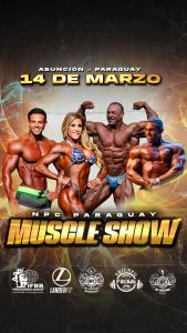 PARAGUAY MUSCLESHOW REGIONAL