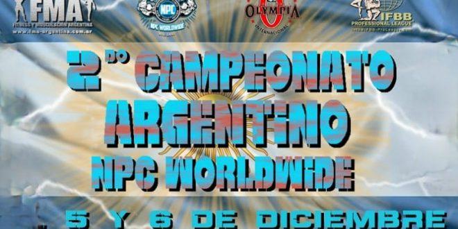 Resultados Campeonato Argentino NPC WORLDWIDE Categorías Femeninas