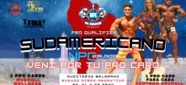 Información y Protocolo para Atletas y Acompañantes del Campeonato Sudamericano NPC WORLDWIDE